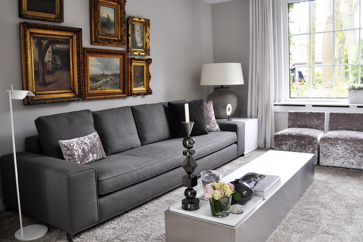 Woonkamer modern interieur: tv s zijn tegenwoordig ...