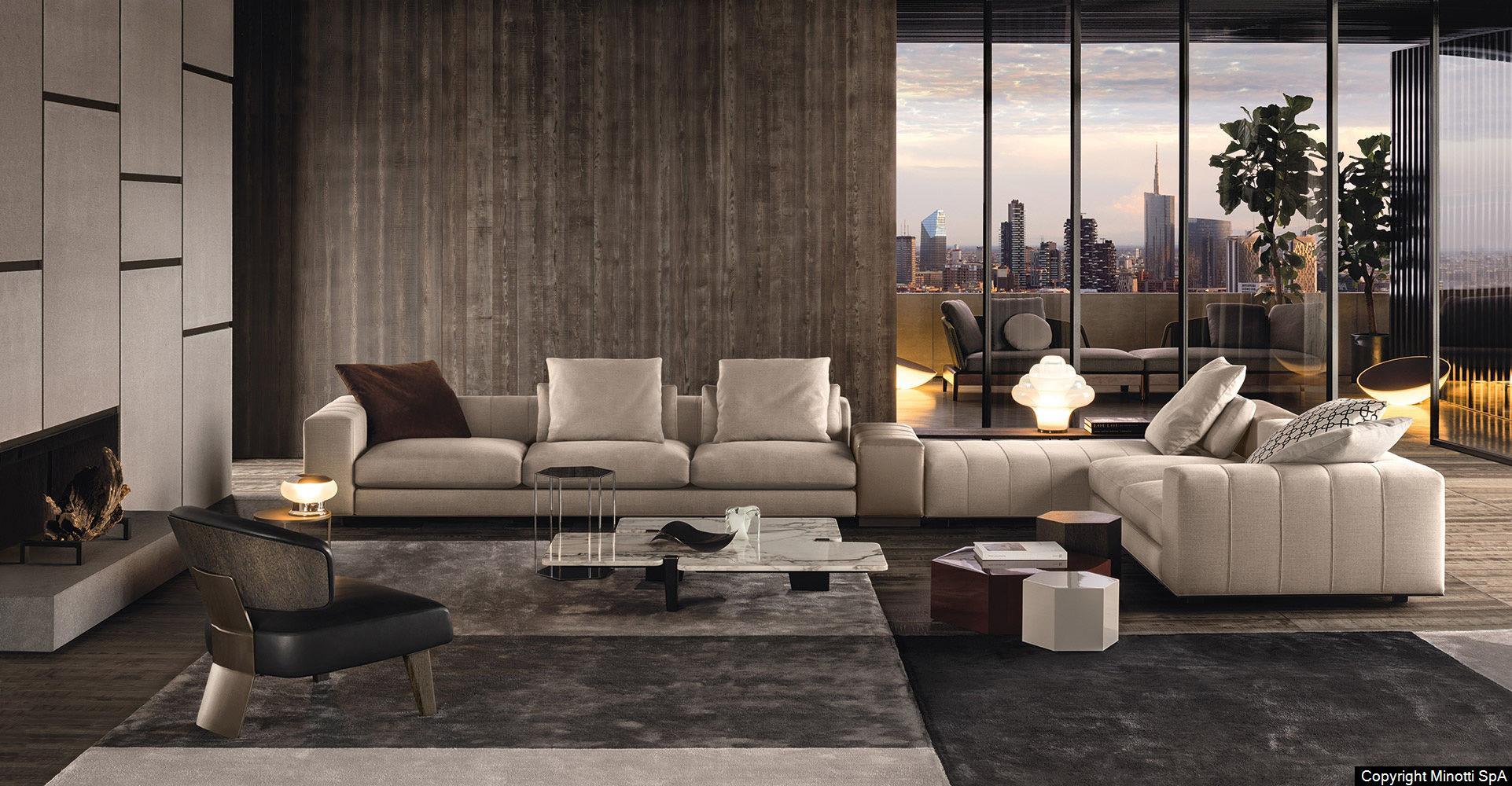 Minotti Raw Interiors